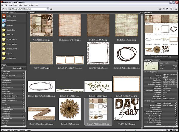 Using Metadata and Keywords In Adobe Bridge