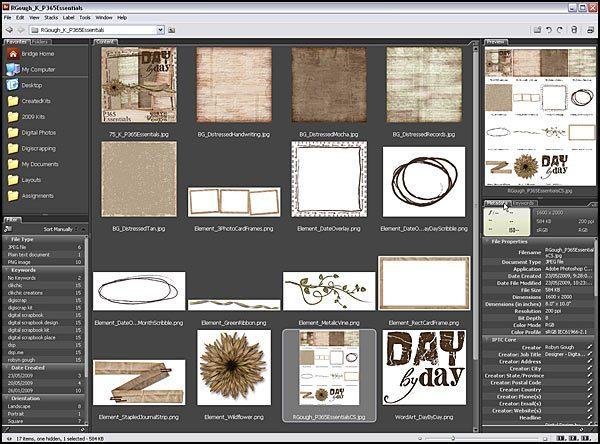 Using Metadata and Keywords In Adobe Bridge